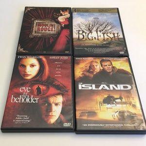 Ewan McGregor DVD Movie Bundle